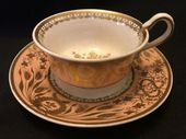 SPODE serpent handle cup & saucer